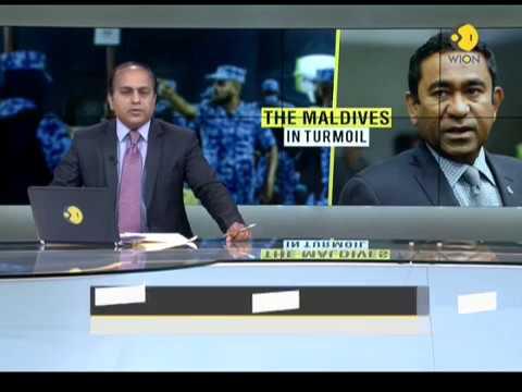 China cautions India on Maldives