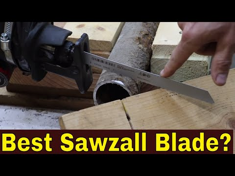 Which BiMetal Sawzall Blade Best? Let's find out! (Episode 1 of 4) from YouTube · Duration:  8 minutes 17 seconds