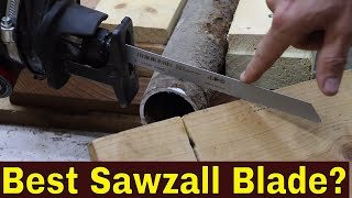 Which BiMetal Sawzall (Metal Cutting) Blade Best? Let's find out! (Episode 1 of 4)