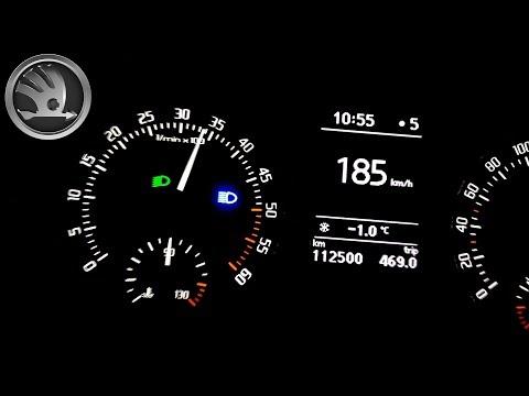 2015 Skoda Fabia II 1.6 TDI 55 KW, 0-200 Km/h - Acceleration
