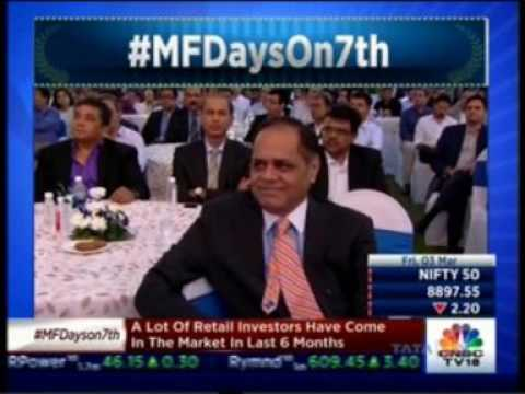 Mr. Raamdeo Agrawal in a discussion on CNBC TV18 - Mutual Fund Day