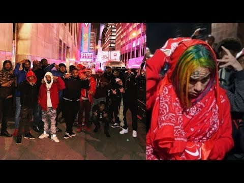 Slim400 PULLS UP TO NY After 6ix9ine DARES Him To & Claimed HE WAS BANNED!