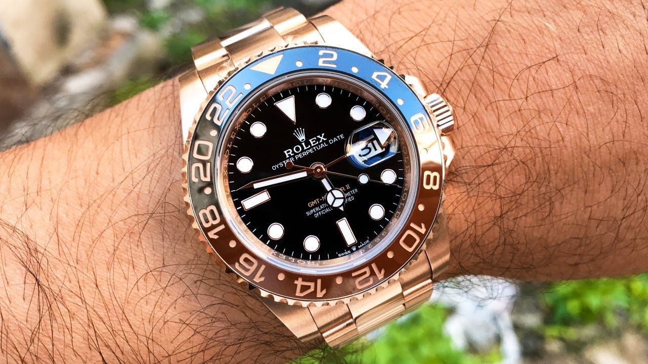 Rolex Gmt Master Ii In Everose The Best Rose Gold Sports Watch Youtube