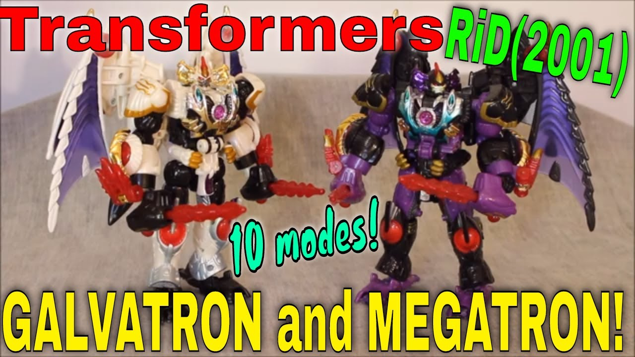Almost Endless: RiD 2001 Megatron AND Galvatron By GotBot