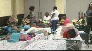 People Taking Advantage Of Emergency Shelters
