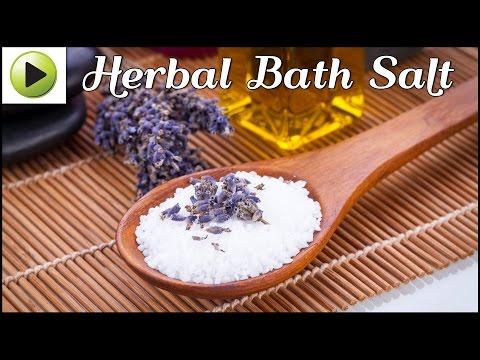 DIY Herbal Bath Salt