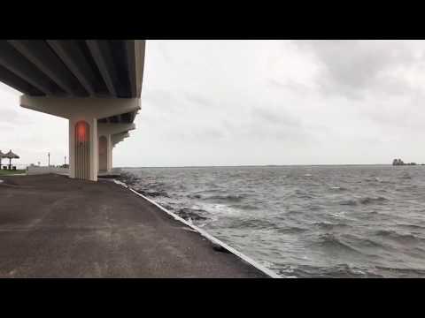 Hurricane Irma Winds Max Brewer Bridge Titusville, FL