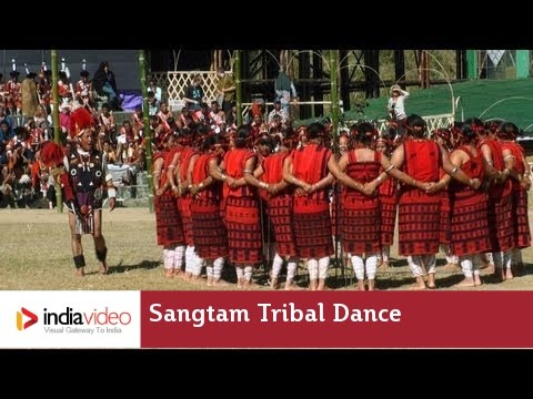 Sangtam tribal dance of Nagaland