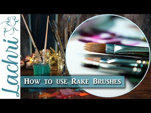 Rake Brush for