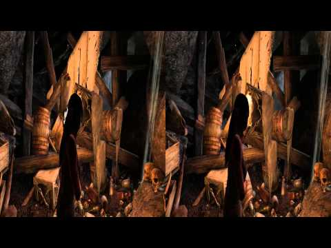3D Stereo Game Play Tomb Raider 2013