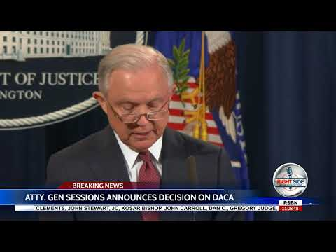 Jeff Sessions FULL Announcement on END of DACA 9/5/17