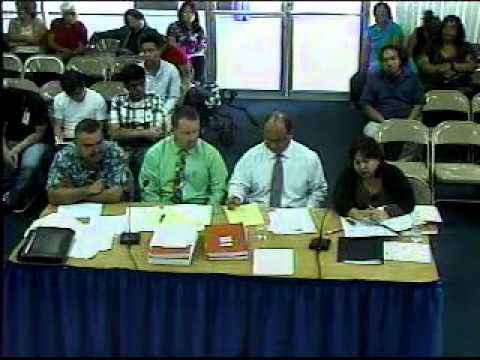 FY 2013 Budget Hearing - Department of Education (Part I)
