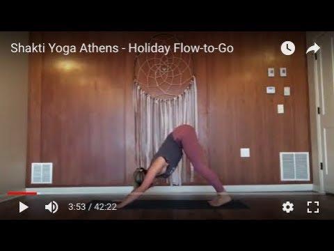 Shakti Yoga Athens - Holiday Flow-to-Go