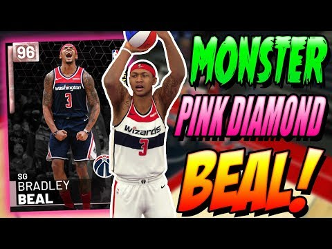 NBA 2K19 MYTEAM PINK DIAMOND BRADLEY BEAL GAMEPLAY! CAN WE CLUTCH IT!?
