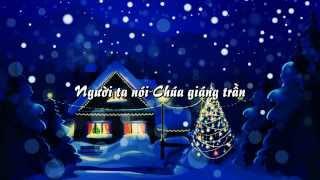 [Karaoke Lyrics] - Giáng Sinh Và Nỗi Cô Đơn (Tuấn Hưng) NOEL 2014