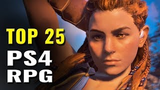 Top 25 Best Modern PS4 Role-playing Games (2017 - 2018)