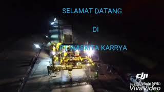 Proyek Tol Terbanggi Besar-kayu Agung Lampung tengah  PT.Waskita karrya