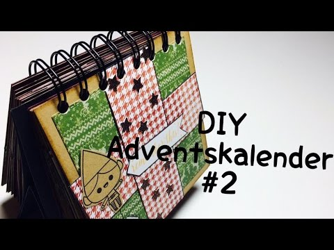 diy adventskalender 2 tutorial deutsch youtube. Black Bedroom Furniture Sets. Home Design Ideas