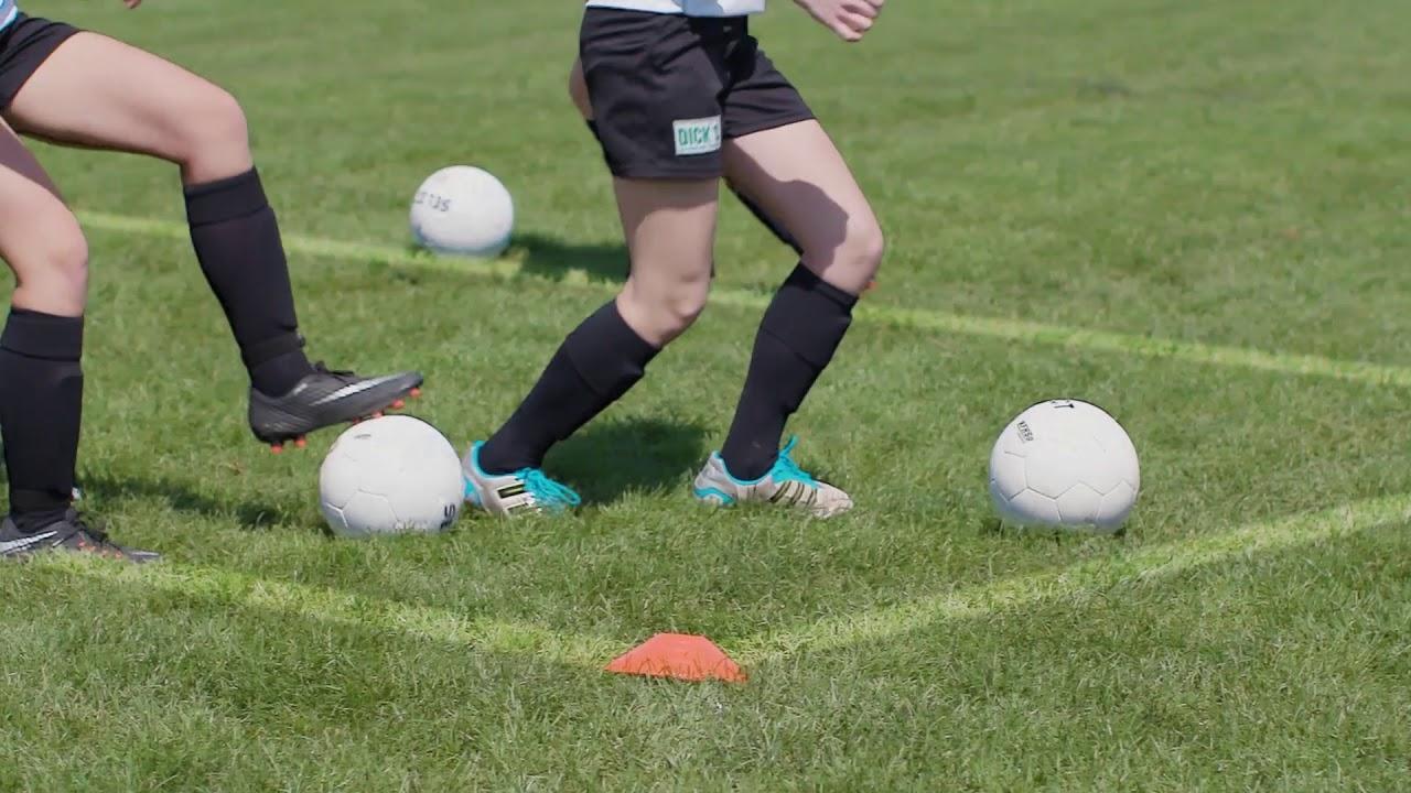 Soccer Drills Dribbling Box Drill
