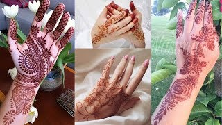 Easy & Simple arabic mehndi designs || Mehandi designs images || Mehendi design front hand
