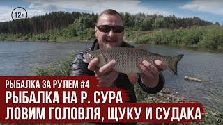 Рыбалка на р Сура ловим головля щуку и судака Рыбалка за рулем 3 14