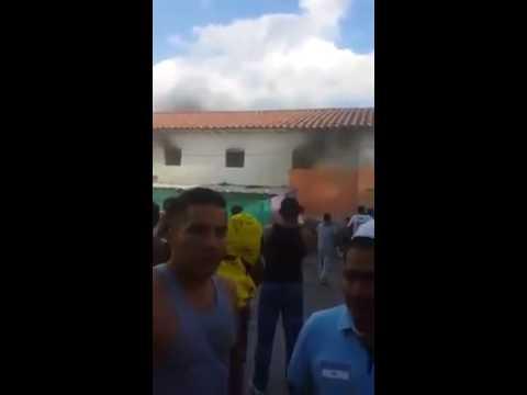 Incendio Cárcel Ibarra