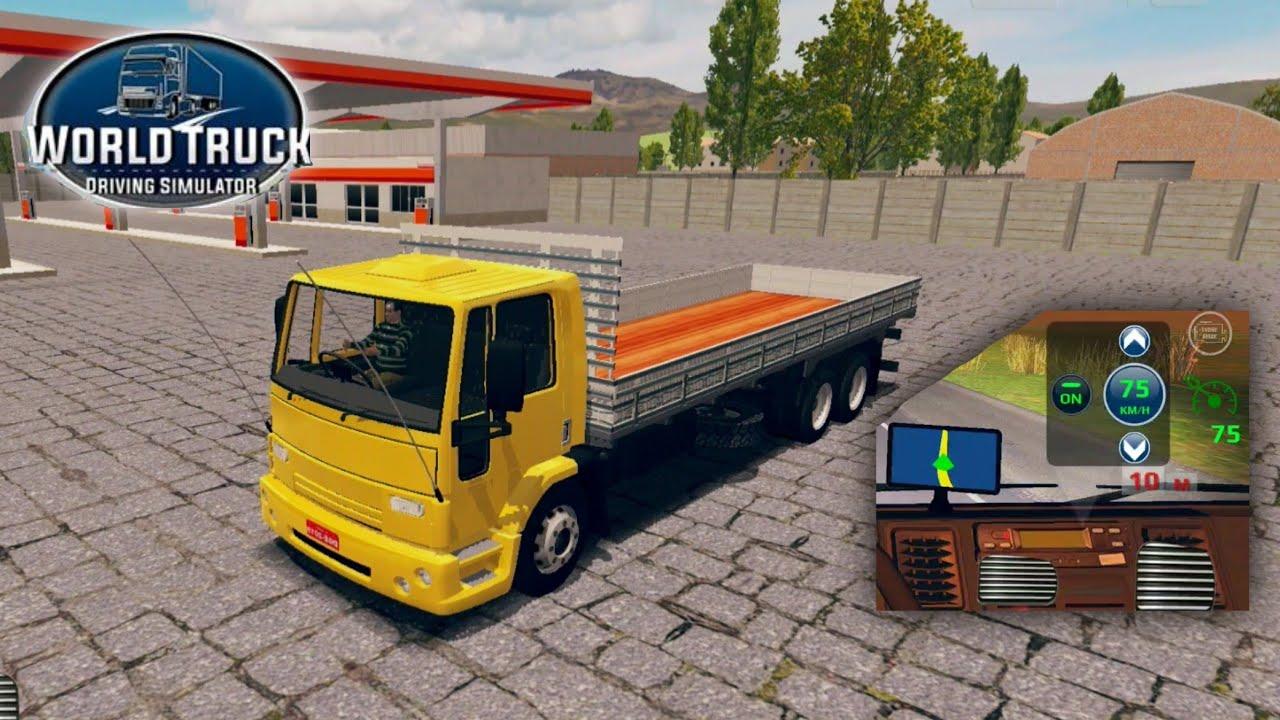 World Truck Driving Simulator Update!/Atualizaçáo! - New Truck, Cruise  Control (AutoPilot) & More