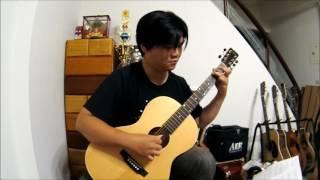 你的心河 River Flows in You Fingerstyle木吉他演奏 - 李閏珉 Yiruma