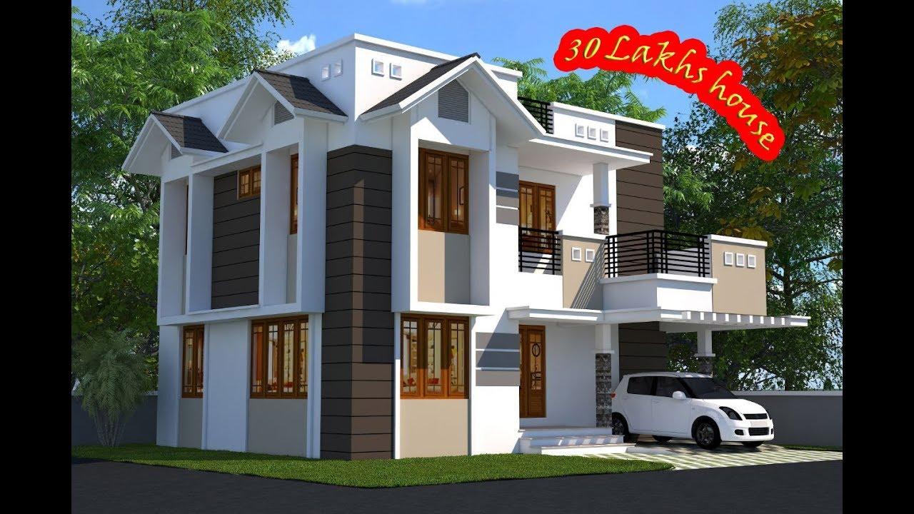 Ernakulam Kakkanad 1442 sqft 3 bhk Modern house 30 Lakhs-house design,  Floor plan