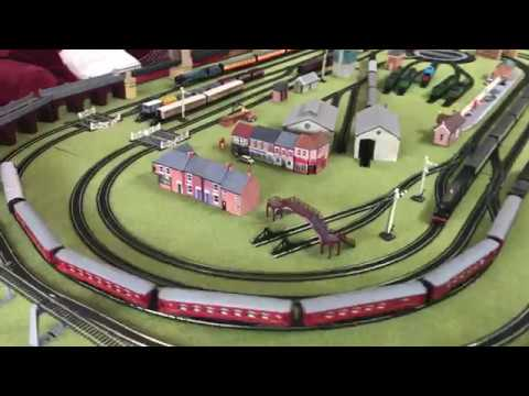 Massive Model Train Set Hornby HL12 Railway by Jadlam