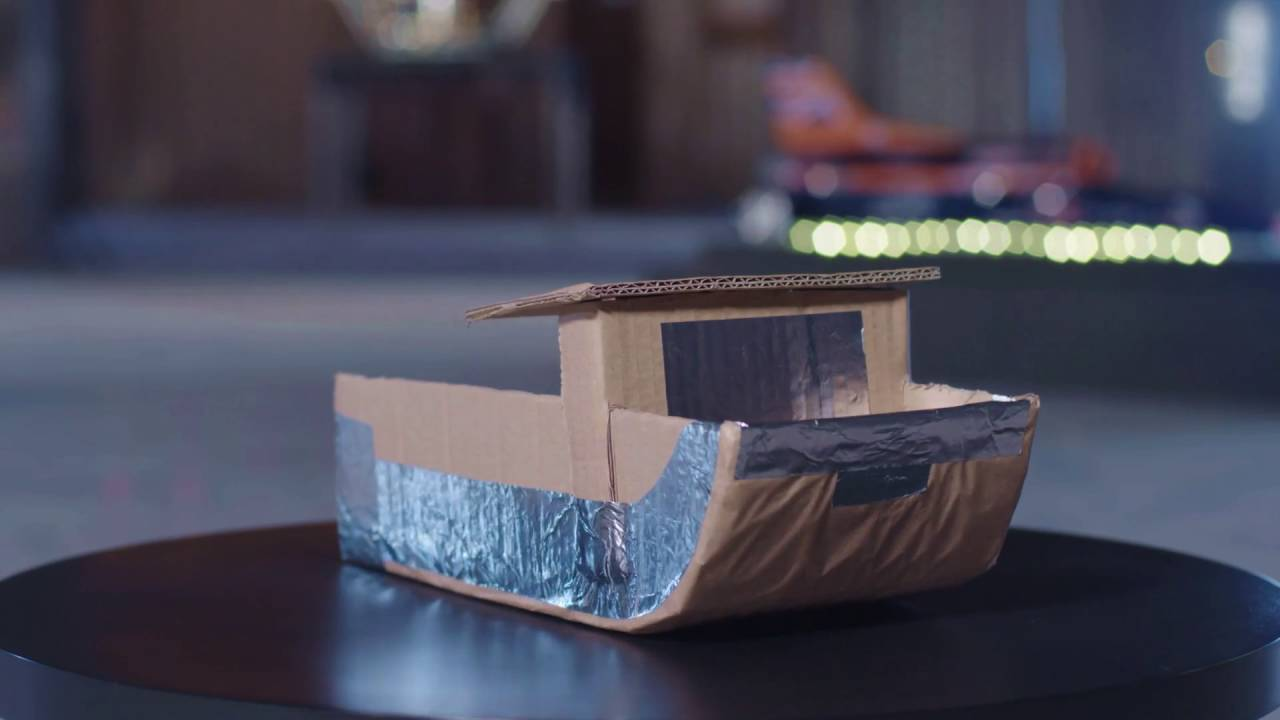 Trailer  Design And Build A Cardboard Boat