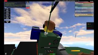 ROBLOX - VSO: Jumping from a Heli at Fort Shadow