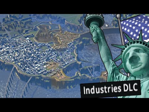 Cities Skylines - Stealing The Worlds Oil as America