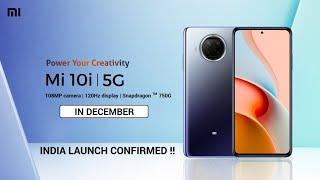 Mi 10i 5G || INDIA LAUNCH CONFIRMED