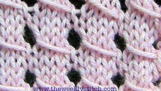 Repeat youtube video Slip Stitch Lace