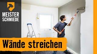 Wände streichen | HORNBACH Meisterschmiede