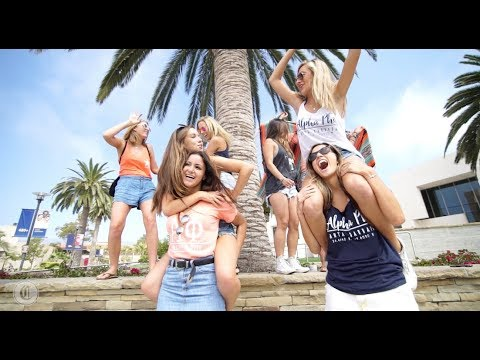 UCSB Alpha Phi Show off Their Beautiful Oceanside Campus
