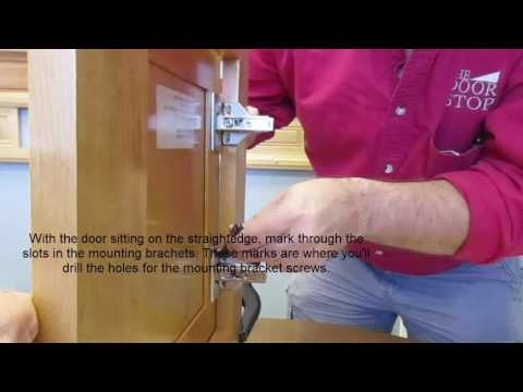 How to hang new cabinet doors on existing cabinets