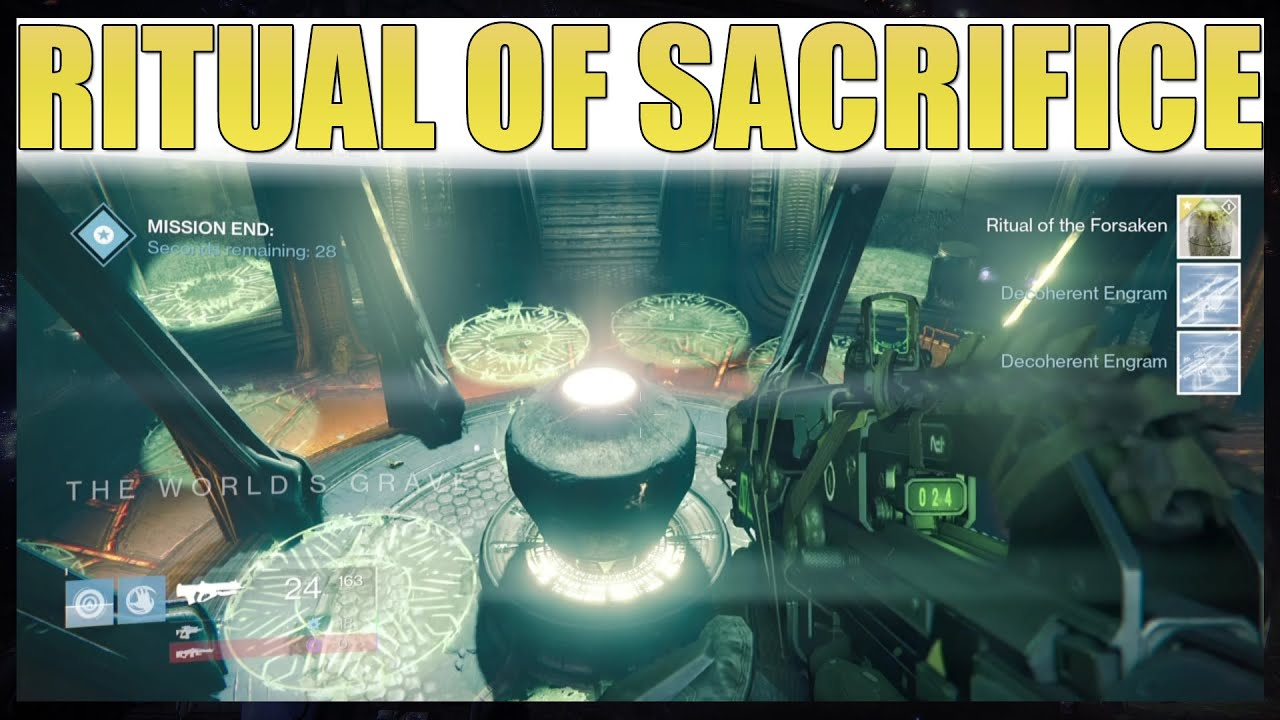 Destiny - Ritual of Sacrifice Cheese And Walkthrough (NEW MISSION ...