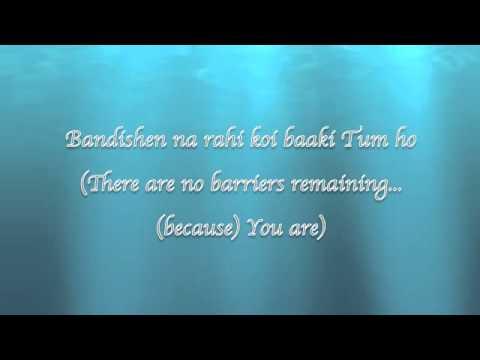 Tum Ho ( English Lyric) Mohit Chauhan