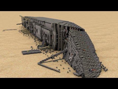 Minecraft HMHS Britannic Wreck