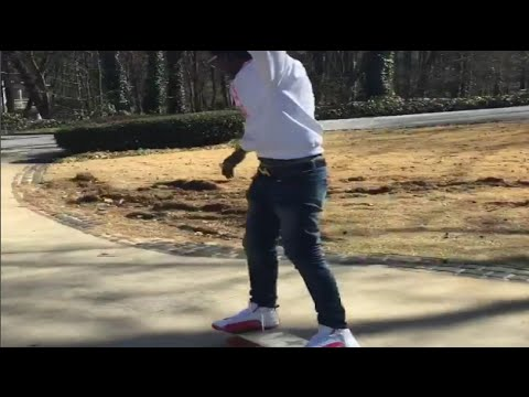 e09233b0b1d7 Young Thug Skateboarding In The Pink 12s - YouTube