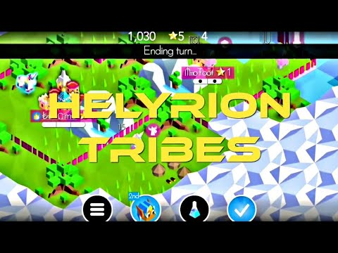 Elyrion Tribe The Battle of Polytopia Gameplay Android IOS |
