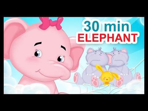 Un éléphant qui se balançait et 30 min de comptines pour enfants
