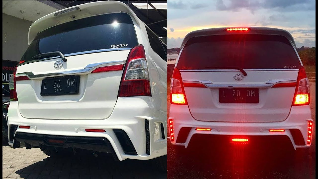 New Toyota Innova Modified Lexus Model Body Kit You MUST SEE 2018