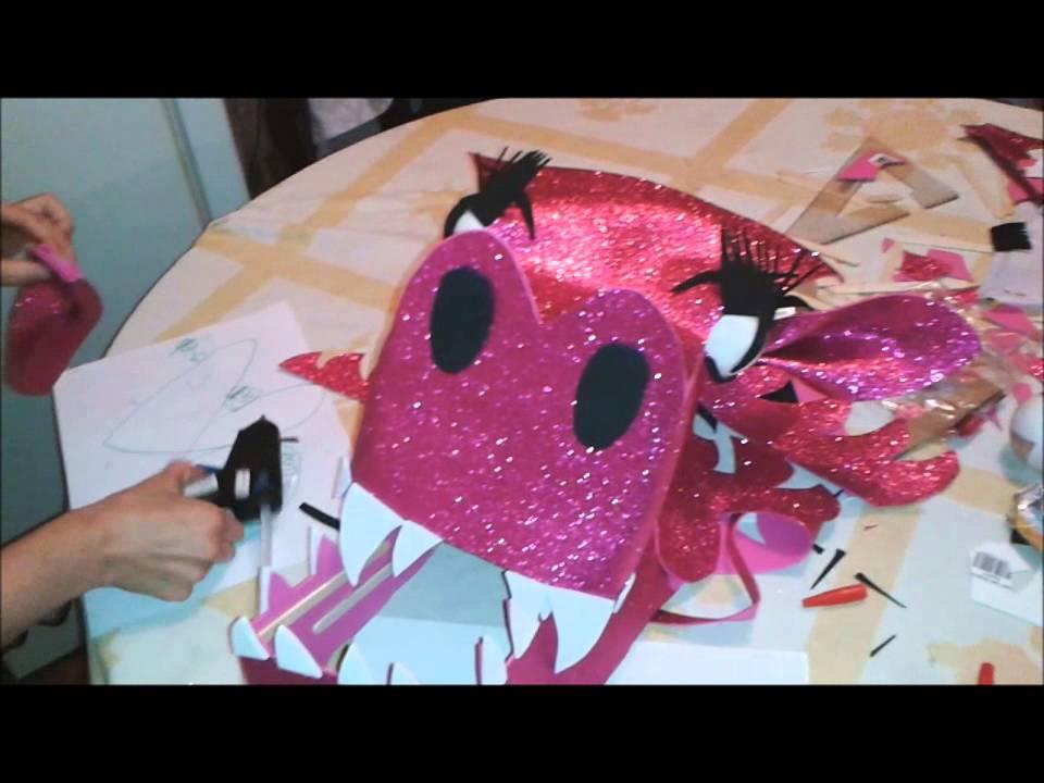 Como hacer una mascara de dragon youtube - Como hacer una mascara ...