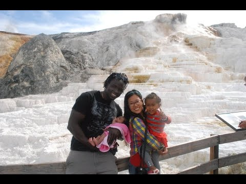 BABY'S FIRST VISIT TO YELLOWSTONE
