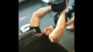 Fernando Montes   120lbs #pullovers! #bodybuilding #npc amazing sport skills