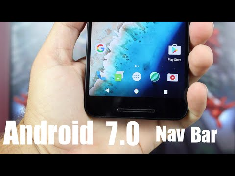 Android Nougat 7.0 How To Install NEW Nav Bar ANY DEVICE!