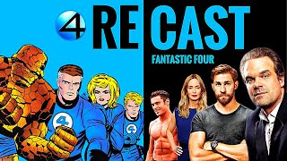 MCU Fantastic Four RECAST - TC Does Comics